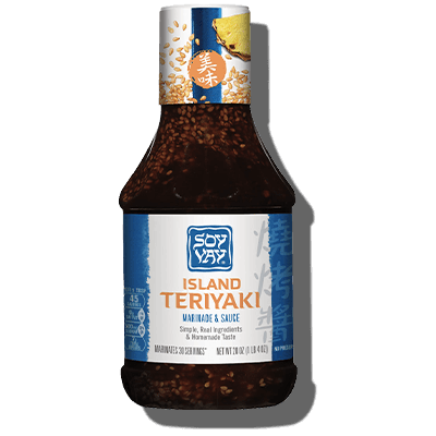 Island Teriyaki Marinade & Sauce - Click for More Information