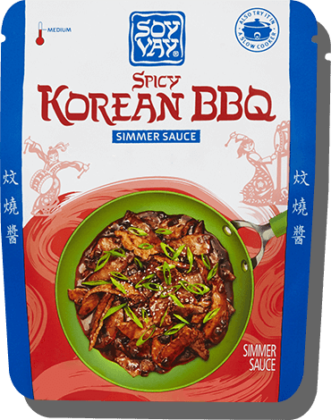 Spicy Korean BBQ Simmer Sauce