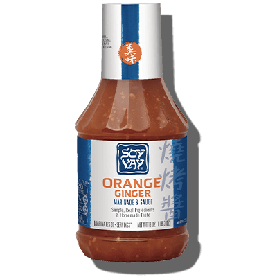 Orange Ginger Marinade & Sauce - Click for More Information